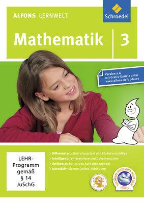 Software Cd-rom Gesundheit FöRdern Und Krankheiten Heilen Energisch Alfons Lernwelt Lernsoftware Mathematik 3 Computer, Tablets & Netzwerk