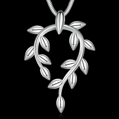 30 Style 925 Silver Solid Silver Women/'s Fashion Jewelry Pendant Necklace GN02