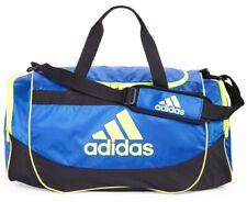 ADIDAS DEFENSE MEDIUM BLUE Duffel Sport Gym Bag Luggage 25