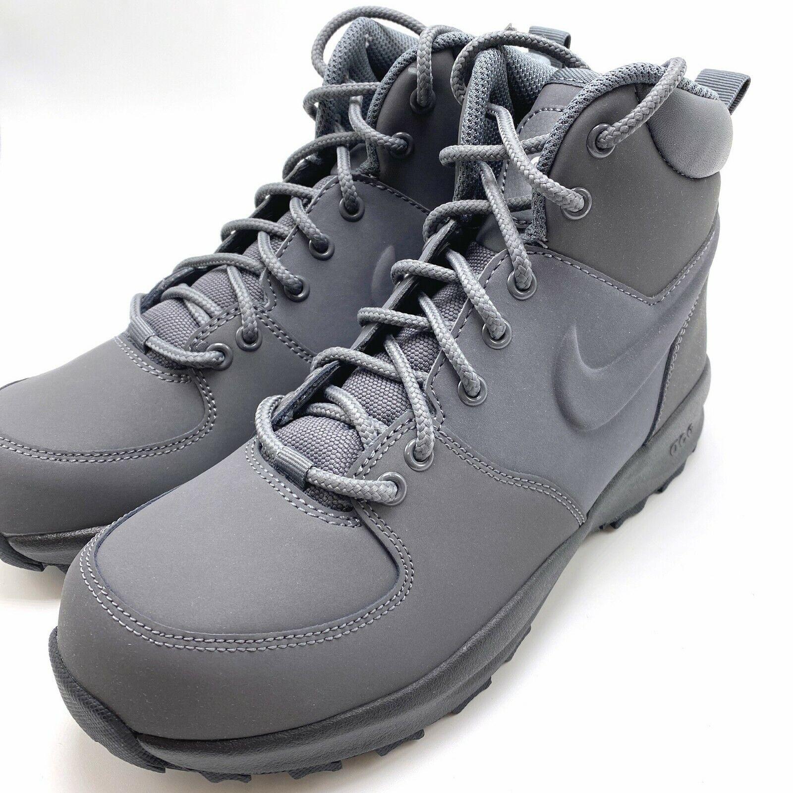 Nike Manoa Black//Black-Black GS 5.5 M US Big Kid