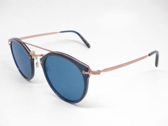 d91fc7f41e Oliver Peoples OV 5349s Remick 156696 Denim W blue Mirror Sunglasses ...
