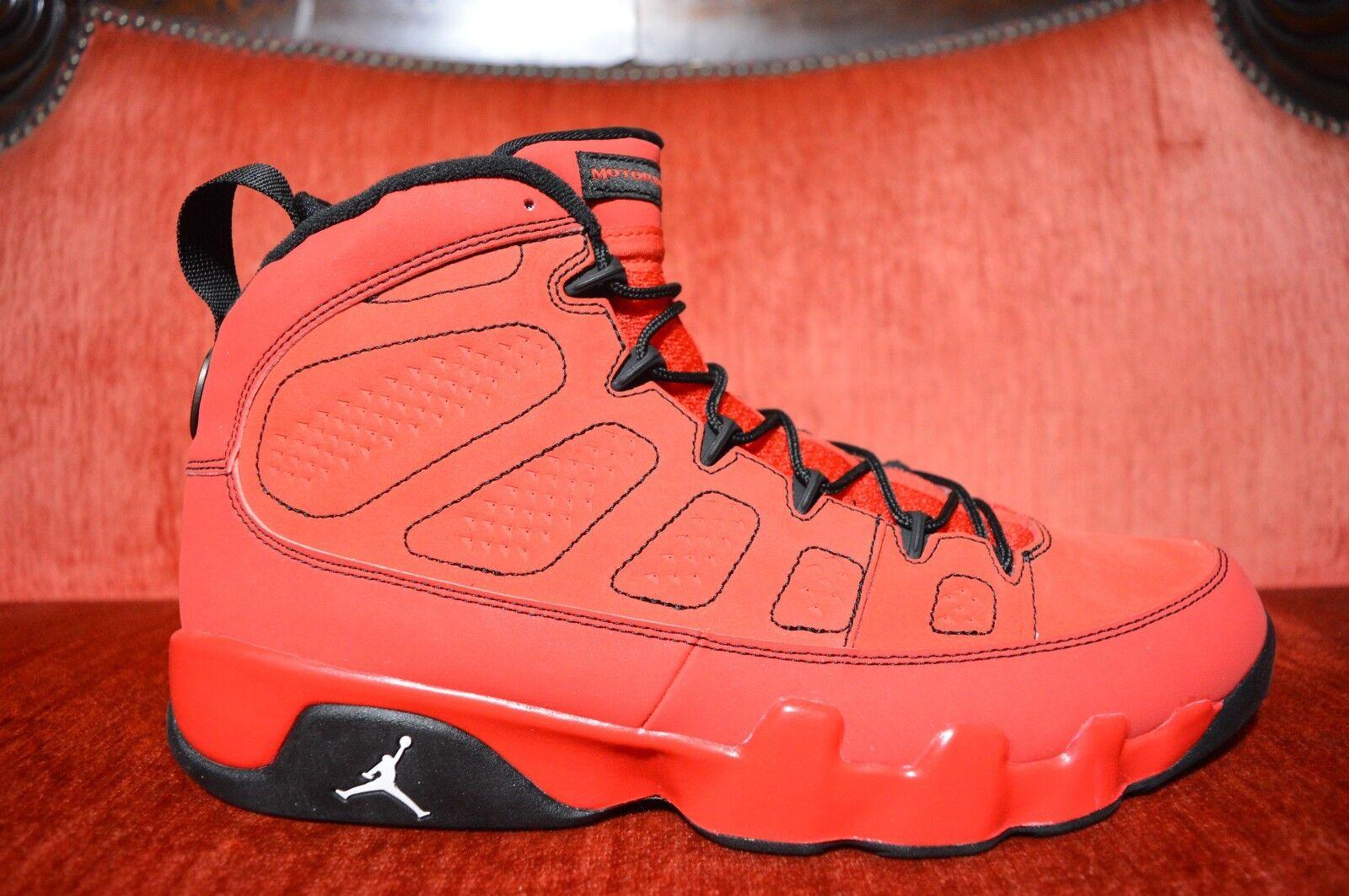 WORN 1X Nike Air Retro Jordan 9 IX Motorboat Jones Red 302370-645 Size 11