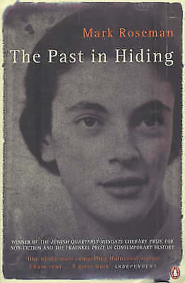 """""""AS NEW"""" The Past in Hiding, Roseman, Mark, Book"""