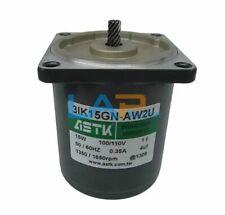 1pcs New For Astk Motor 3ik15gn Aw2u 15w 100110v 035a 13501650rpm 5060hz