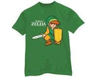 Legend Of Zelda Nintendo T Shirt Extra-large With Tags Licensed