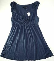 Forever 21 Womens Ladies Navy Sleeveless Top Size Small T104 A1