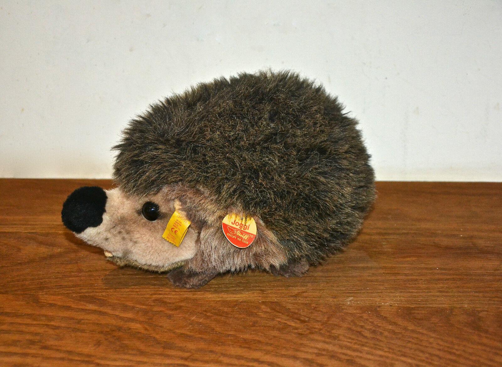 Vintage Steiff Joggi Porcupine Hedgehog with tags