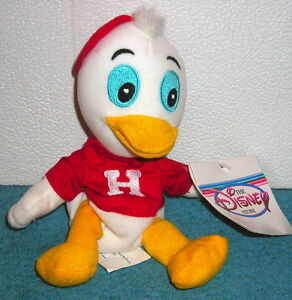 DISNEY-STORE-EXCLUSIVE-DONALD-DUCK-NEPHEW-HUEY-7-034-PLUSH-BEAN-BAG-TOY-NEW