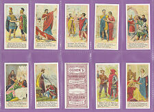 REPRODUCTION SET OF 50 OGDENS LTD. - SHAKESPEARE  SERIES  CARDS OF 1905  -  2000