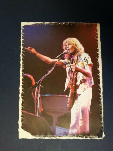 .ae handmade greeting card with PETER FRAMPTON