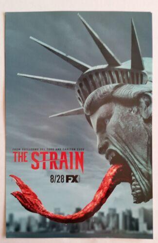 SDCC Comic Con 2016 Handout The Strain TV Series promo poster