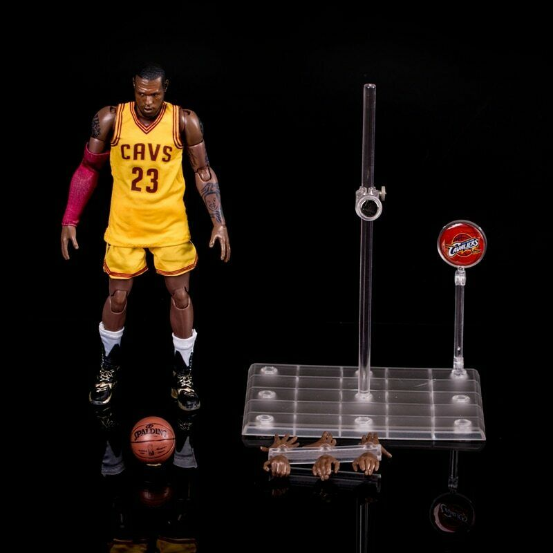 NEW lebron james 23 CAVS Action Figure Jersey Vinyl Collect Gift souvenir