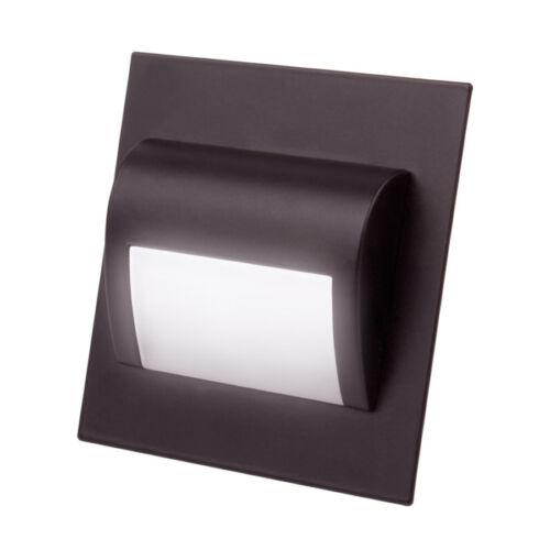 Step LED 12V LED Fitting Spot Light White Black Antic Chrome Stair Staircase