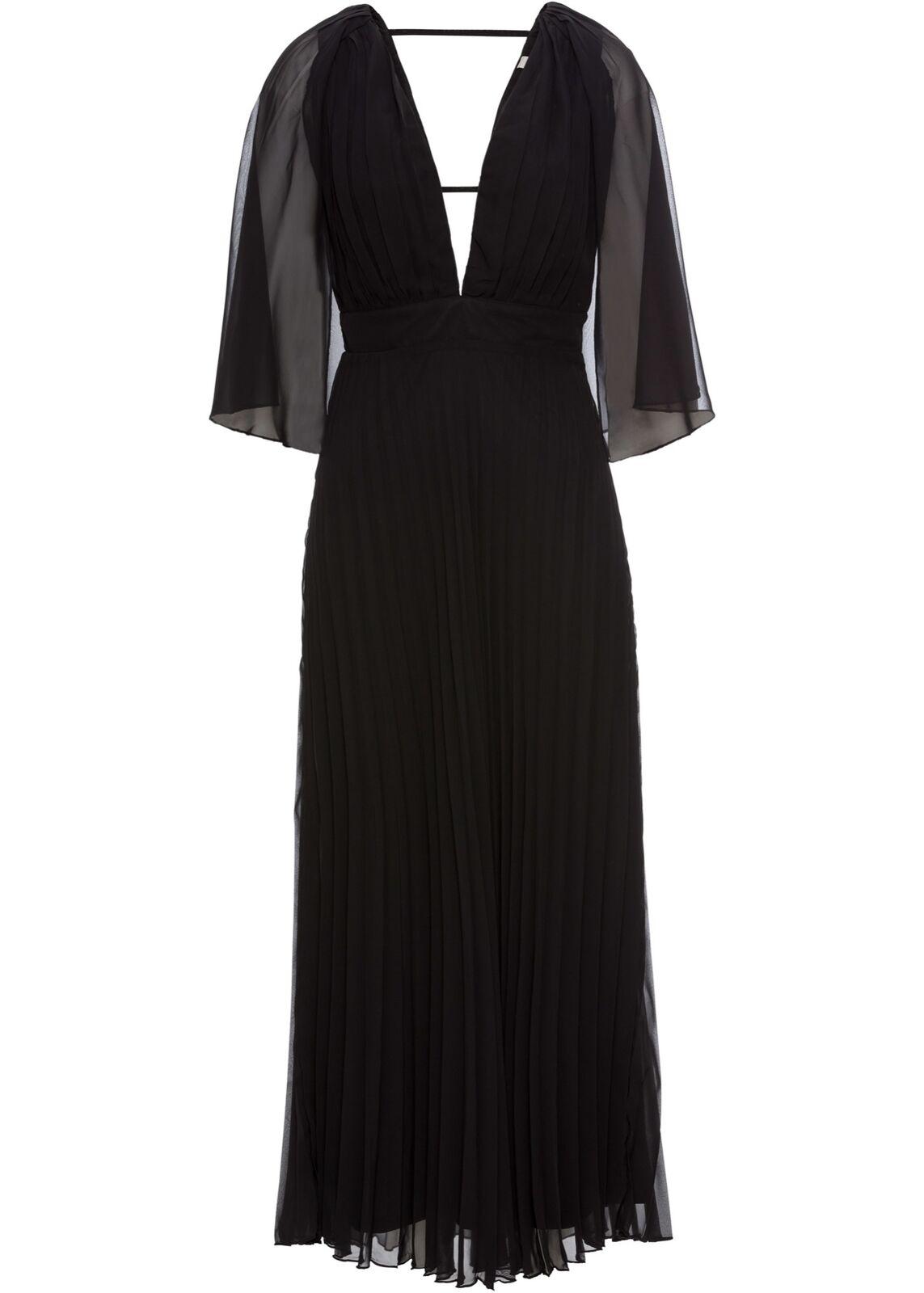 Abendkleid Gr. 38 Schwarz Eventkleid Maxi-Kleid Cocktailkleid Eventkleid Neu