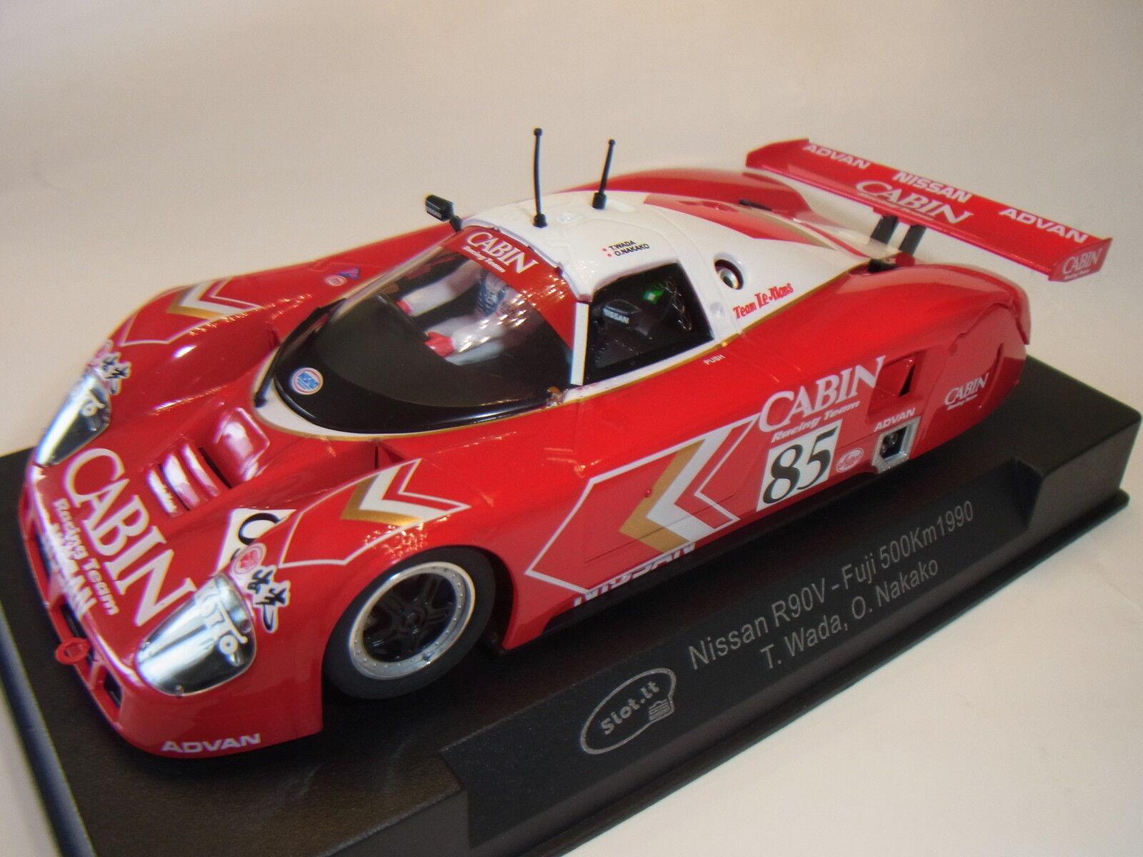 servicio de primera clase Slot  Nissan R90V Suzuka Suzuka Suzuka 1990 SICA28C para Circuito de Slot 1  3 2  a la venta