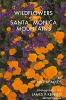 (new) Wildflowers Of The Santa Monica Mountains Of California By Milt Mcauley