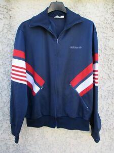 Détails sur Veste ADIDAS vintage France Ventex tracktop jacket giacca 80's sport 174 M D 5
