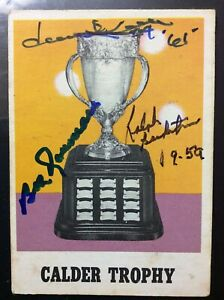 SIGNED-1970-71-OPC-258-CALDER-TROPHY-DAVE-KEON-B-ROUSSEAU-R-BACKSTROM