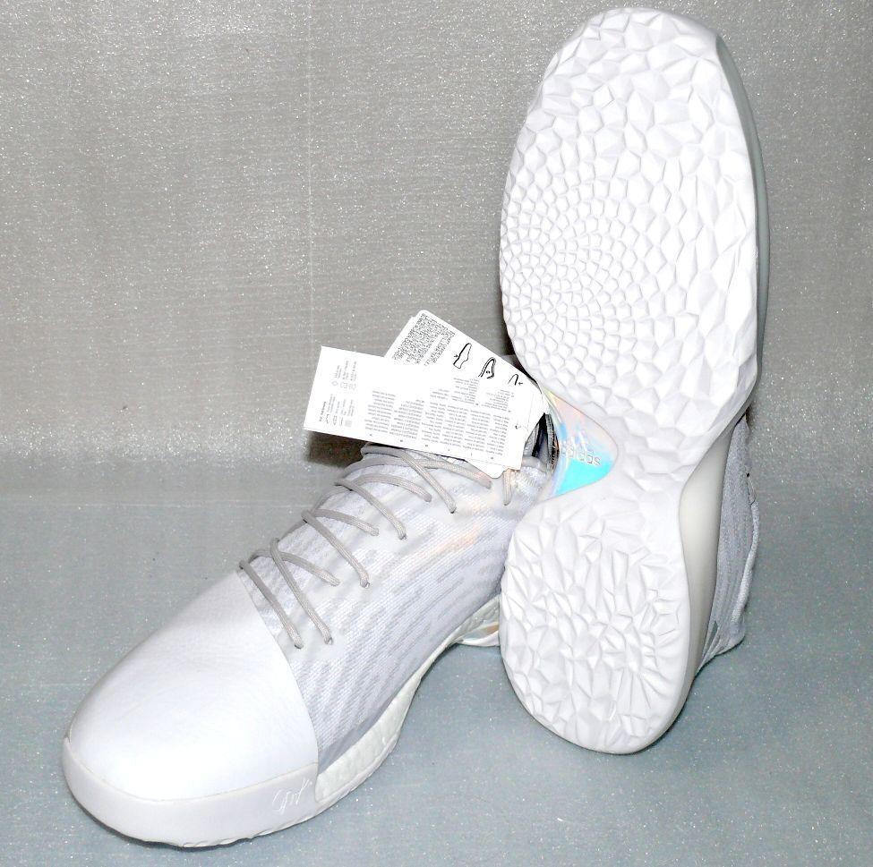Adidas B39495 Performance Harden Vol 1 PK Herren Schuhe Turnschuhe 52 2 3 UK16 Weiß