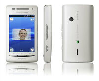 Sony Ericsson Xperia X8 E15i White White Android Smartphone