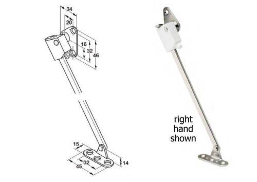 Hafele Braking Lid Supports White 280MM Length
