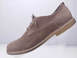 dfa979755021cc UGG Suede Oxfords - Brown Leather Lace Up Crepe Sole Casual Shoes ...