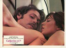 JANE BIRKIN PATRICK DEWAERE CATHERINE ET Cie 1975 VINTAGE LOBBY CARD #3