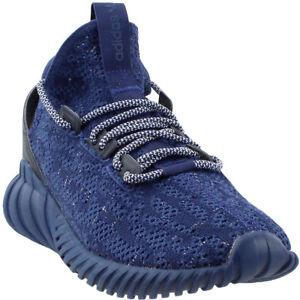 3e682b46550b Image is loading adidas-Tubular-Doom-Sock-Primeknit-Sneakers-Blue-Mens