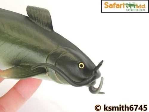 Safari Pesce Gatto in plastica giocattolo animale selvatico Fiume Pesci Marine NUOVO *