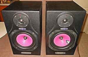Image Is Loading 2 HHB Speakers Circle 5 Untested For Parts