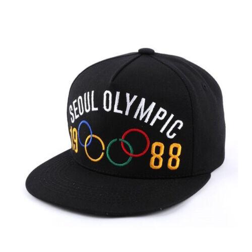 Unisex Mens Womens 1988 KOREA 88 SEOUL Olympic Hiphop Baseball Cap Snapback Hats