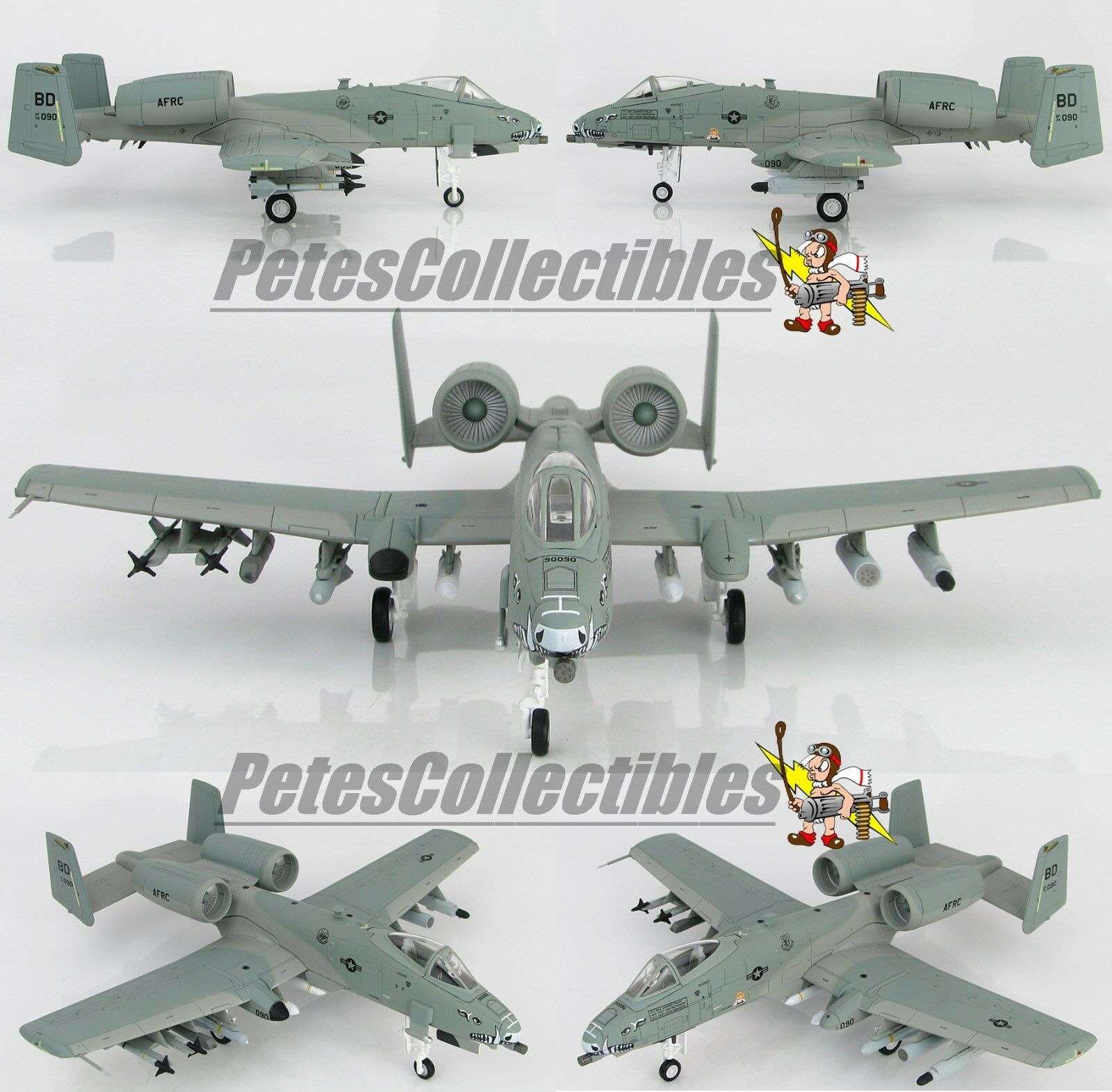 Hobby Master HA1324, A-10C Warthog  Tigresse , 79-0090, 47th FS, 917th Fighter Group, 1 72