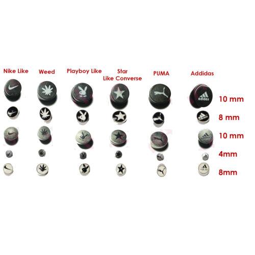 Non Piercing Clip on Magnetic Magnet Ear Stud Mens Womens Fake Earrings New