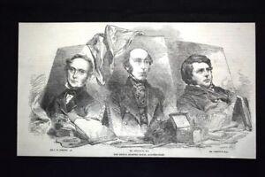Sir J. W. Gordon - Il signor Redgrave - Il signor Creswick Incisione del 1851 - Italia - Sir J. W. Gordon - Il signor Redgrave - Il signor Creswick Incisione del 1851 - Italia