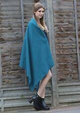 559a2bba1 Herringbone Handloom Merino Wool Pashmina Scarf Teal 200 X 72cm | eBay