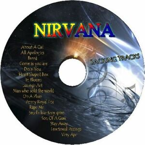 NIRVANA-GUITAR-BACKING-TRACKS-CD-BEST-GREATEST-HITS-MUSIC-PLAY-ALONG-MP3-ROCK