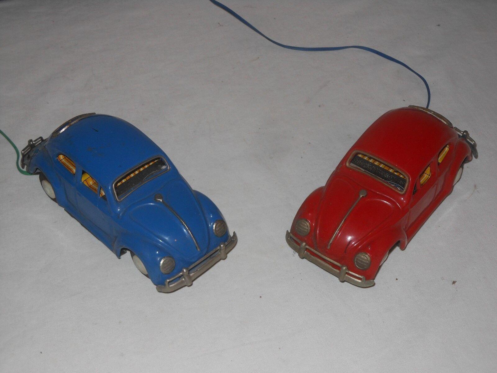 VINTAGE tintoy - - - Japón - 2 piezas VW ESCARABAJO - largo cada 16cm - 31  marca