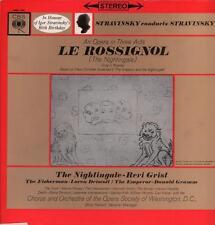 Stravinsky(Vinyl LP)Le Rossignol-cbs-SBRG 72041-UK-VG+/VG+