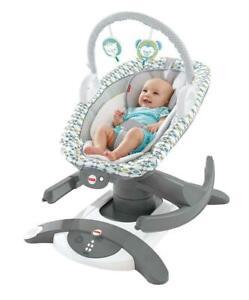 496eaca92 Fisher-Price 4-in-1 Rock 'n Glide Soother Baby Glider Rocker swing ...