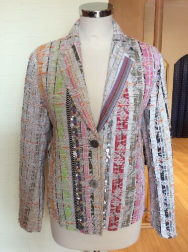 Cream Rrp Bnwt Orange Jacket Size 165 Riani Lime £ Textured 14 Pink Ora £ 449 wIqYZxt