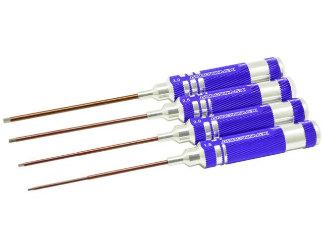 ARROWMAX AM-110991 Allen Wrench Set 1.5, 2.0, 2.5 & 3.0 x 120mm