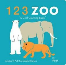 123 Zoo (Cool Counting Books) - New - Puck - Board book