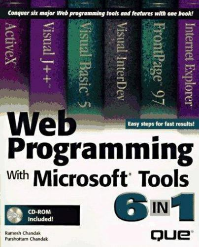Web Programming with Microsoft Tools 6 in 1
