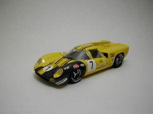 Lola T70 Coupe '# 7 8e marques Hatch 1969 Artisanat / Liddel Modèle 1:43 Meilleurs modèles