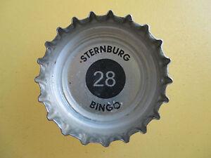 Kronkorken-von-Sternburg-rot-Bingo-Nr-28-Bingokronkorken-rot