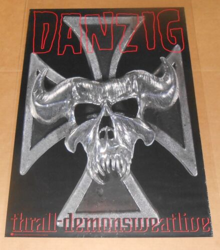 Danzig Thrall Demon Sweat Live Poster Original 1993 Promo 36x24
