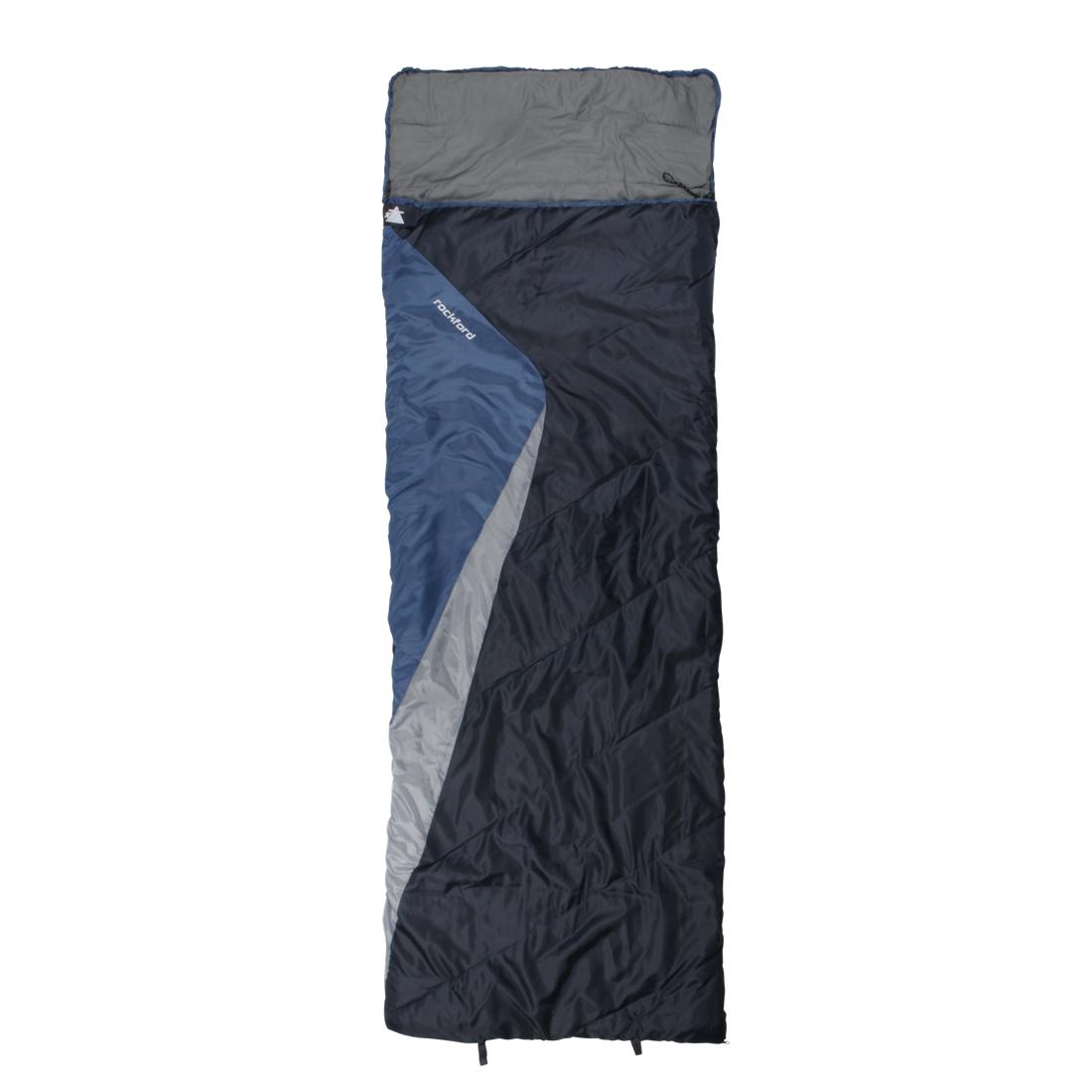 10T Rockfort - Sac de couchage couverture une individuel avec une couverture partie oreiller, 2 579149