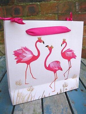 Sara Miller Gift Bags Pink Flamingos Birthday Party Gifts Wedding Medium
