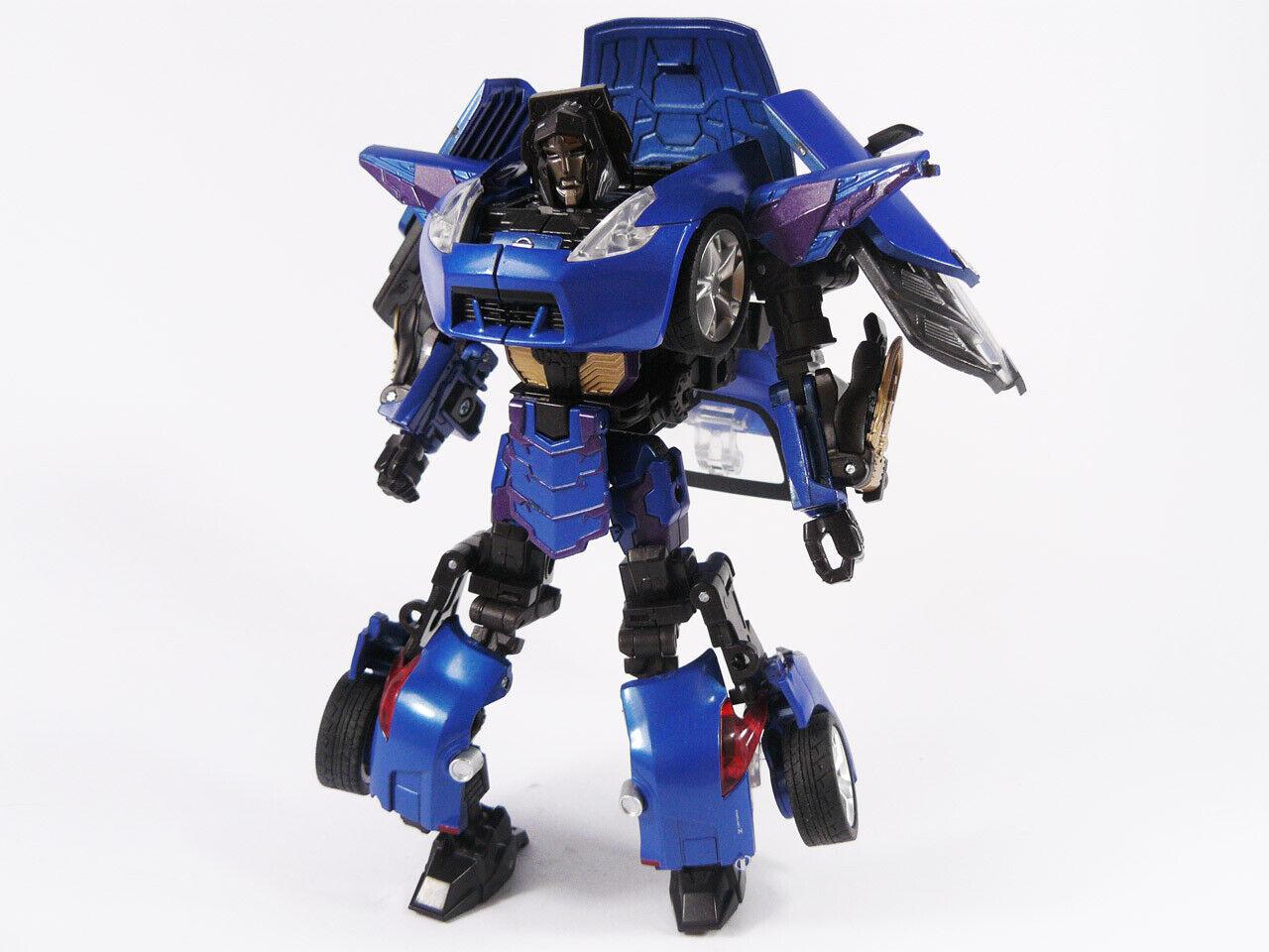 Transformers Alternity Megatron Nissan Fairlady Z Premium Le-Mans bluee - Takara