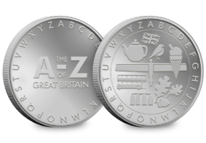 A-Z-of-Great-Britain-Collector-039-s-Medal-Ref-616p